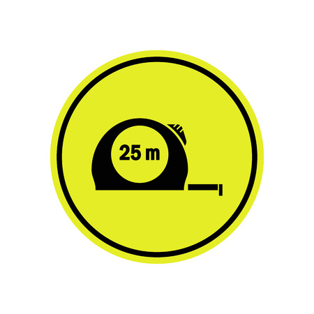 unscrew: Construction tape icon