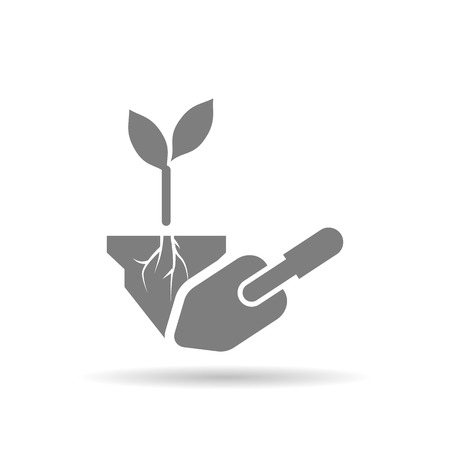 agriculture icon: Planting icon