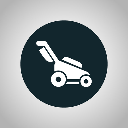 yards: lawn mower icon