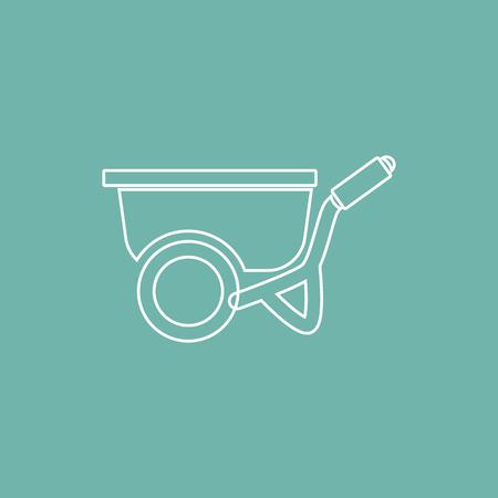 wheelbarrow: Wheelbarrow icon