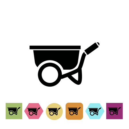 wheelbarrow: Wheelbarrow icon