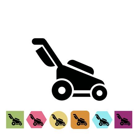 lawn care: lawn mower icon