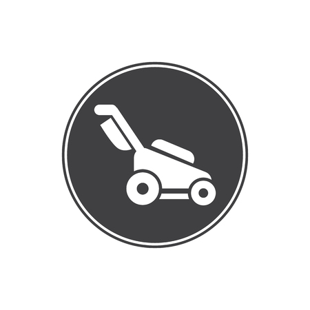 agriculture icon: lawn mower icon