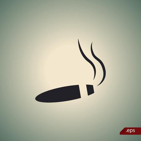 adrenaline: Cigar icon Illustration