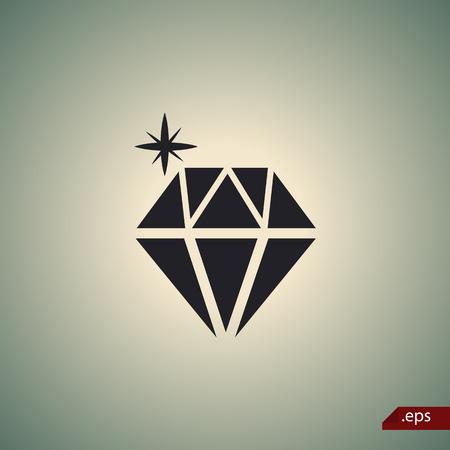 adrenaline: Diamond icon Illustration