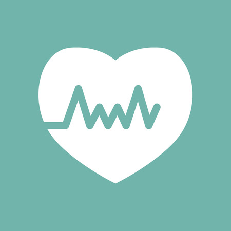 heart rate: Heart rate icon