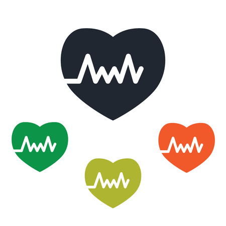 rate: Heart rate icon
