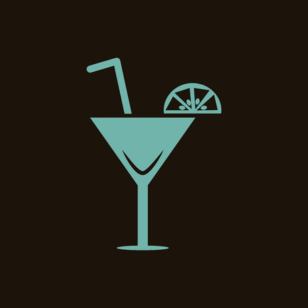 tubule: Cocktail icon