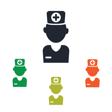 healthcare worker: Doctor icon