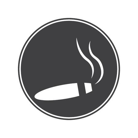 prestige: Cigar icon Illustration