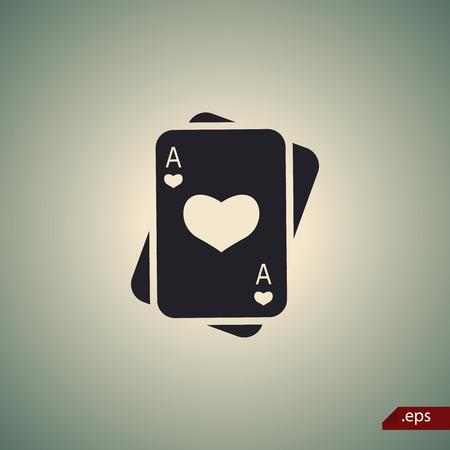 cartas poker: Jugar a las cartas icono