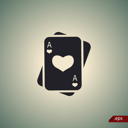 cards poker: Playing cards icon