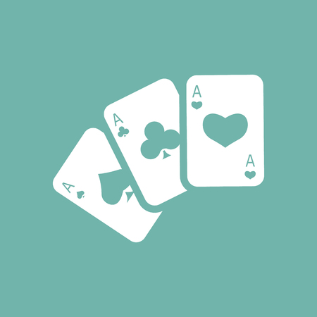 adrenaline: Three playing cards icon