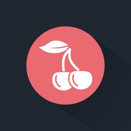 adrenalin: Cherry icon Illustration