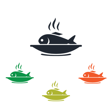lobule: Fishplate icon