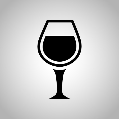 glass of wine: Glass of wine icon
