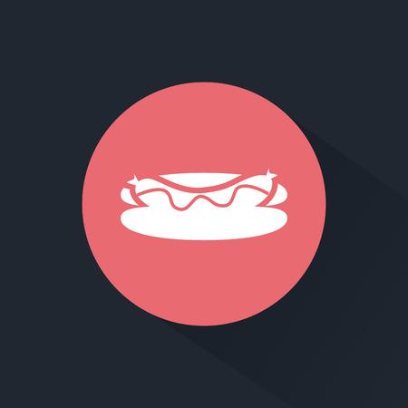 hot dog: Hot dog icon