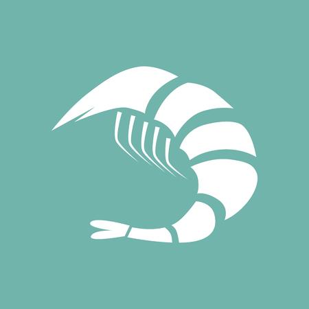 fried shrimp: Shrimp icon