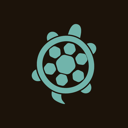 water turtle: Turtle icon