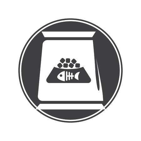 signos vitales: Icono de los alimentos para mascotas