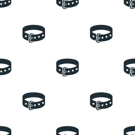 collar: Dog collar icon Illustration
