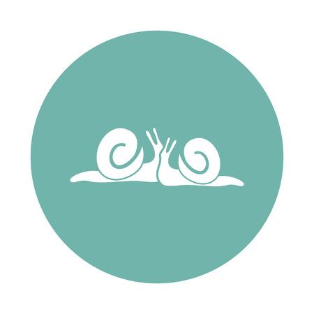 exotica: Two snail icon