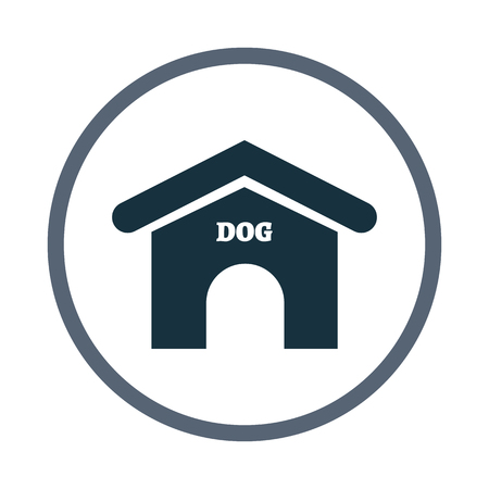 doghouse: Doghouse icon Illustration
