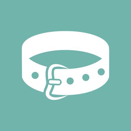 dog collar: Dog collar icon Illustration