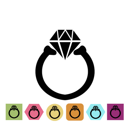 fiance: Ring icon