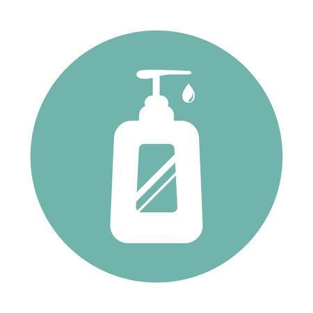 intimate: Women soap icon Illustration