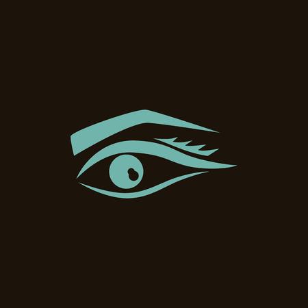 eyelid: Women eye icon