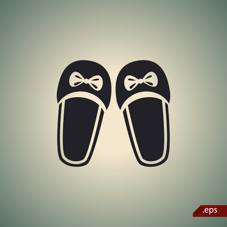 slippers: Women slippers icon