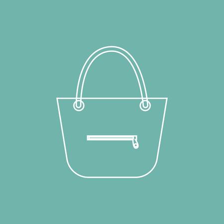 handbag: Ladies handbag icon