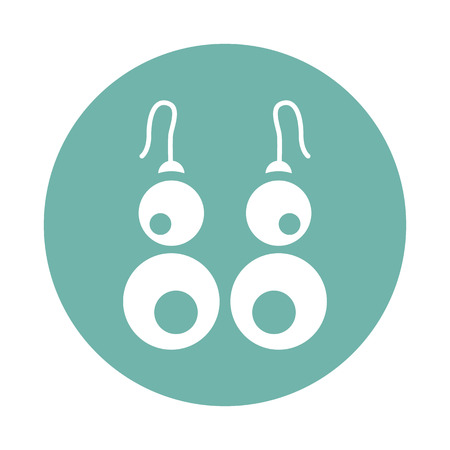 earrings: Earrings icon Illustration