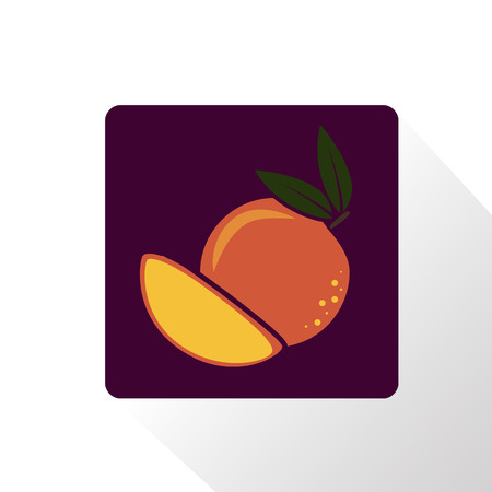 peach: Peach icon Illustration