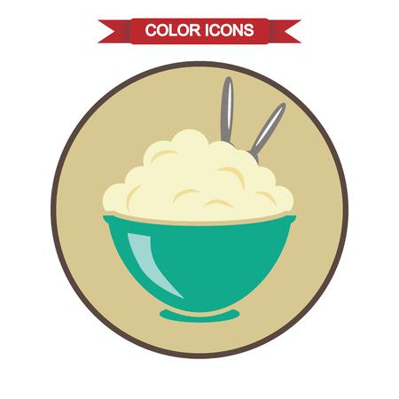mashed potatoes: Mashed potatoes icon