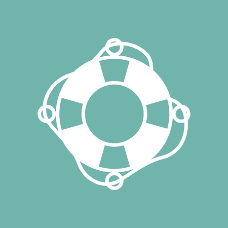rescue circle: Lifebuoy icon