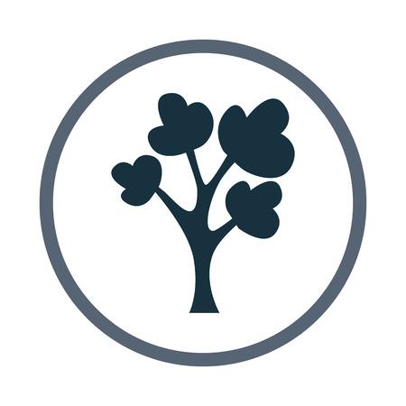 deciduous tree: Deciduous tree icon