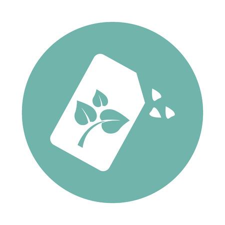 seeds: Plant seeds icon Illustration