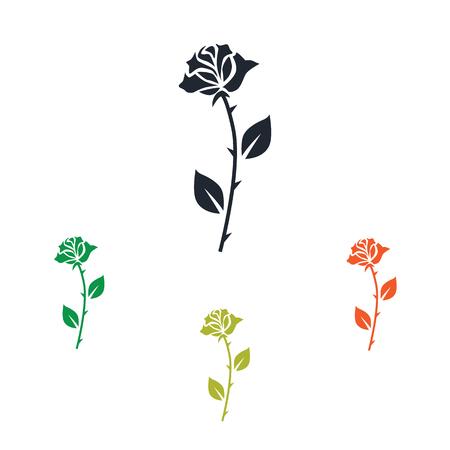 rose: Rose icon