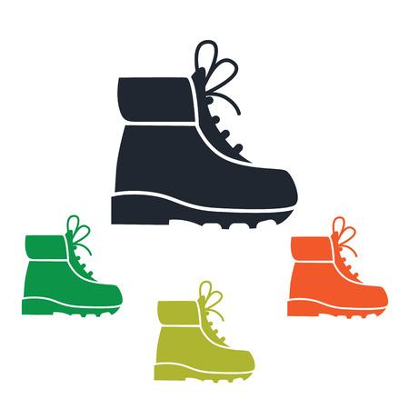 Travel shoe icon