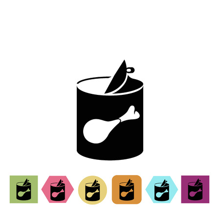 canned food: Canned food icon
