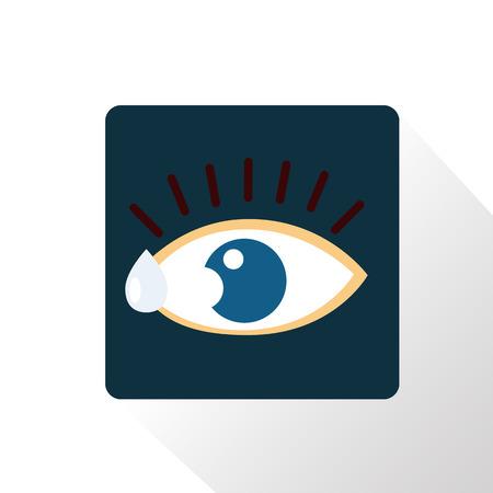 eye drops: Eye drops color icon
