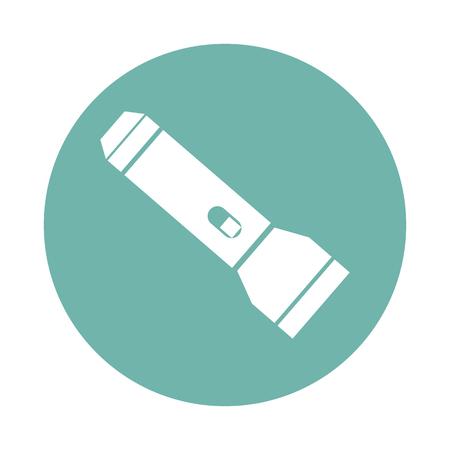 flashlight: Travel flashlight icon