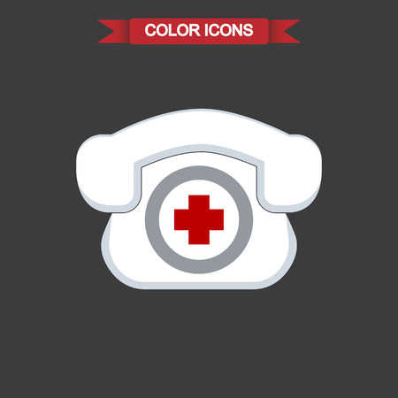 hotline: Medical Hotline color icon