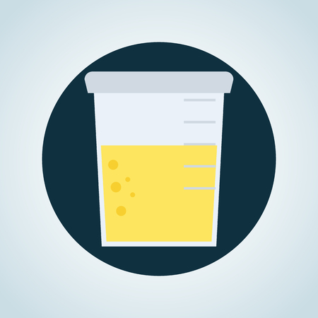 urine analysis: Urine analysis icon