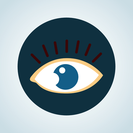 eyelid: Eye color icon
