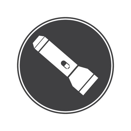 flashlight: Travel flashlight icon