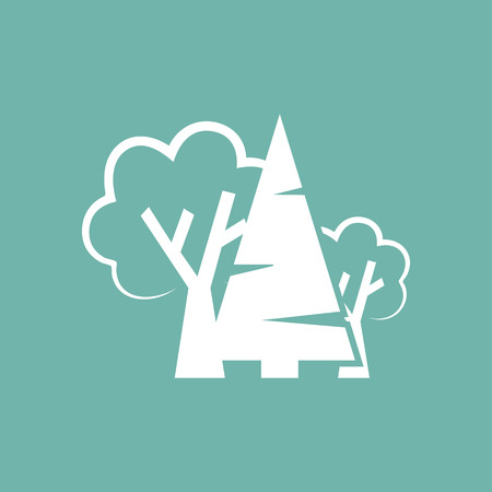 mixed forest: Mixed forest icon