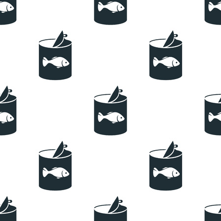 canned food: Fish canned food icon